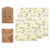 Eco assorted 3 pack bee wax food wrap reusable organic beeswax wraps