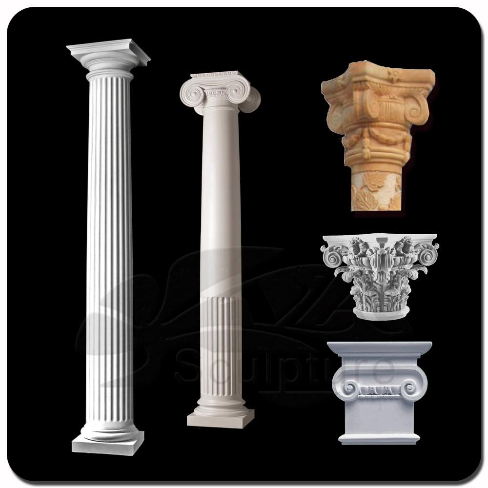 Natural Stone Pillars Caps : New design stone pillar caps with high quality buy