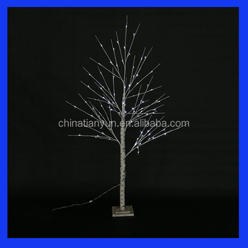 wholsale vivid birch tree led light branches light for christmas holiday decoration