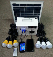 DC 12v solar power products solar radio solar powered tv and fan