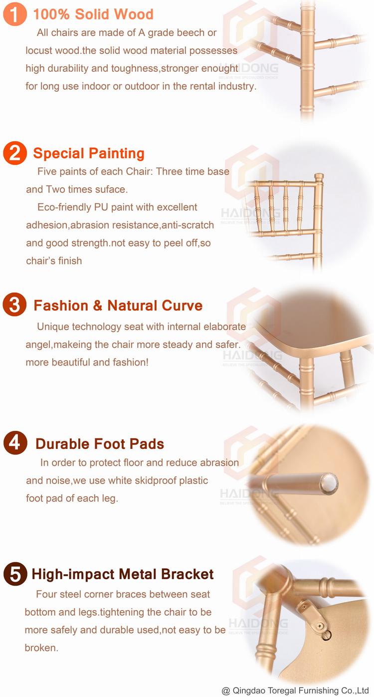 buy Wood Chiavari chairs