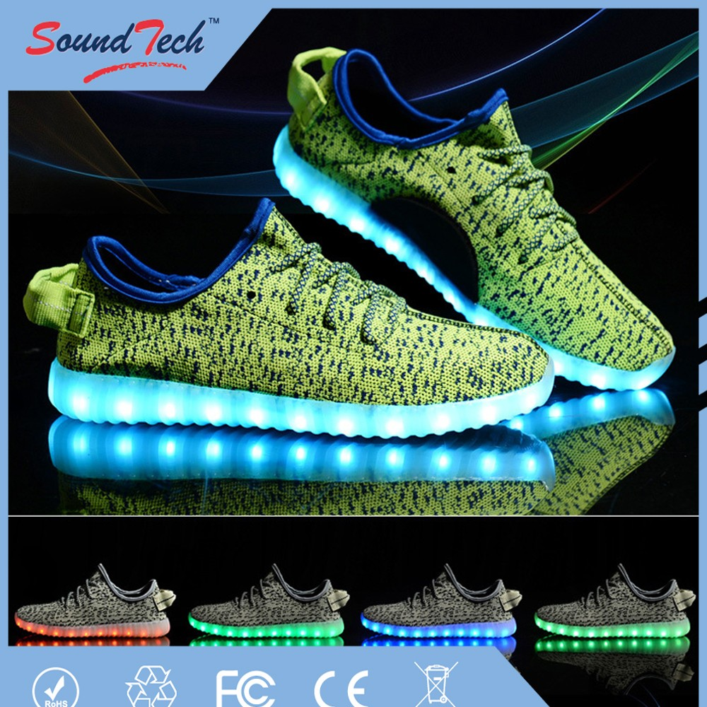 New Style shoes parts adult lighting shoes led shoes, mens led shoes, led light shoes for men