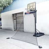 High quality basketball rebound net system with sand bags