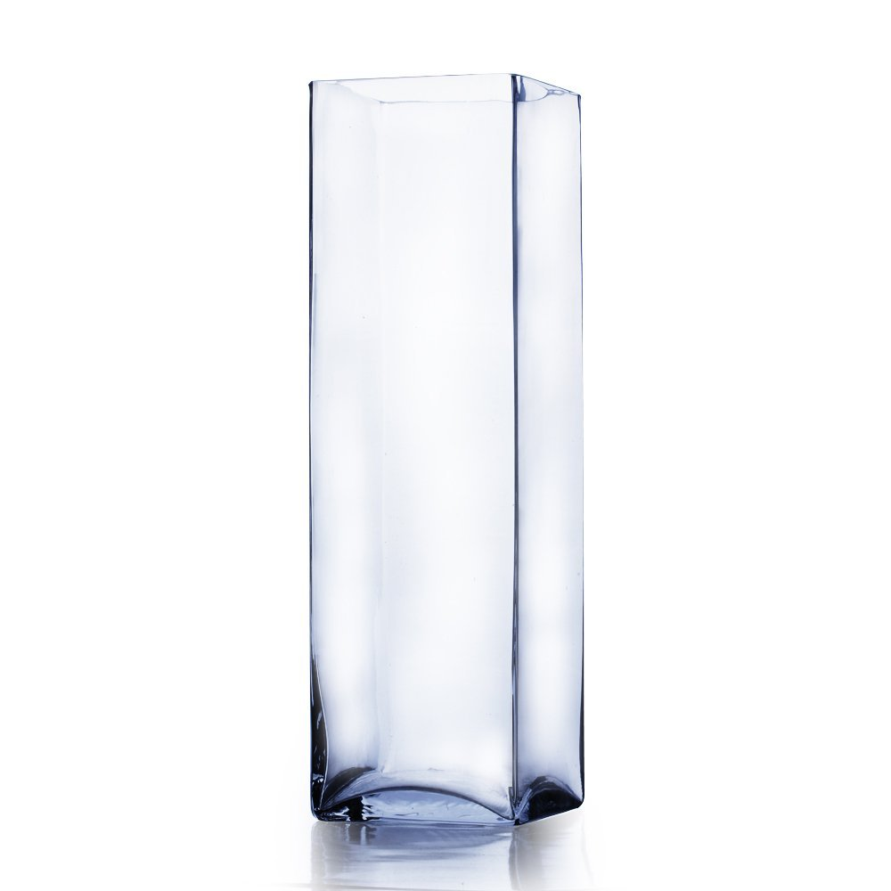 Cheap glass grave candle wholesale find glass grave candle clear square block glass vase candle holder 5 x 20h wholesale reviewsmspy