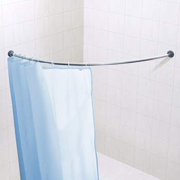 Chinese Manufacturer Corner Shower Curtain Rod