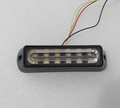 High Intensity 6W LED surface external Lightheads Car Grill warning lighs Emergency lights 18 flash pattern