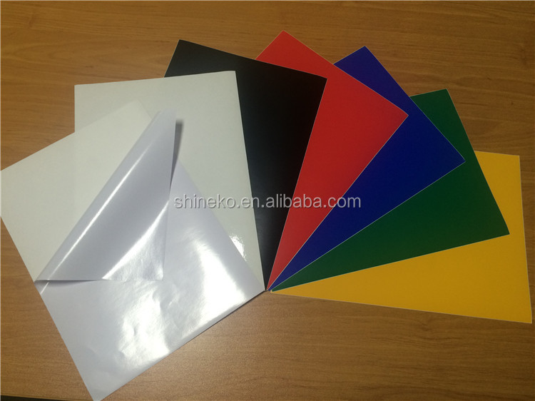 Self Adhesive Vinyl Sheets Film For Cutting Sreen Uv