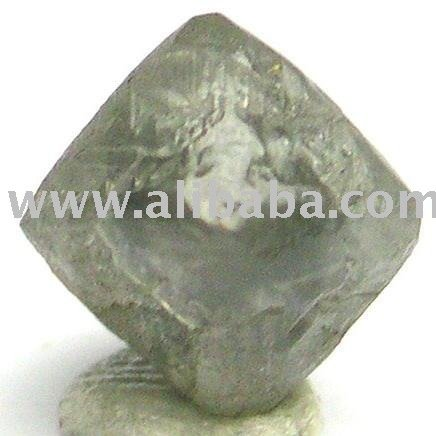 2.14 Carat Grey Octahedron Rough Diamond