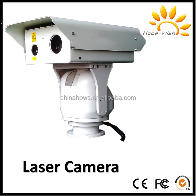 detect 1km-5km laser night vision security surveillance camera