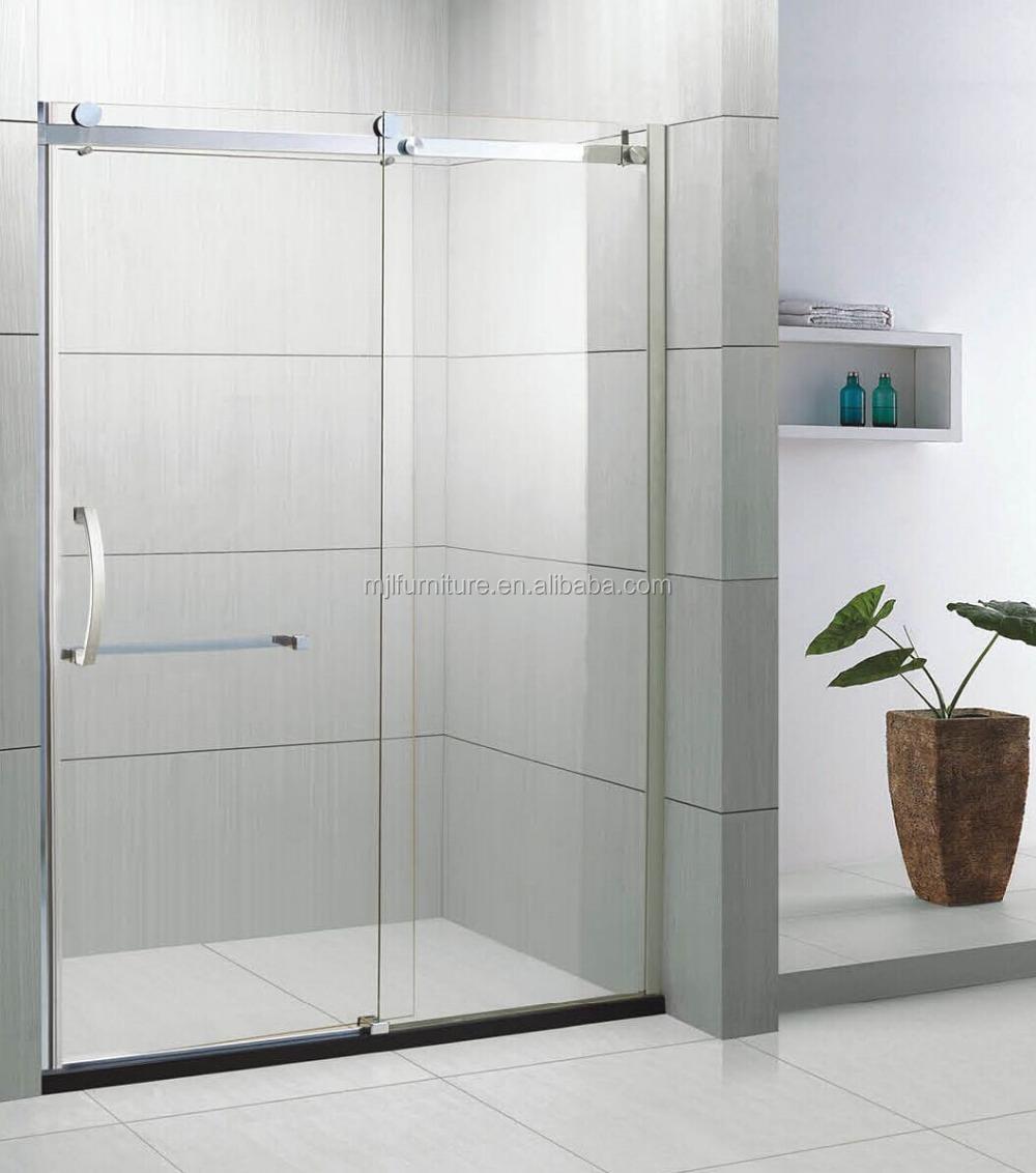 Fabrik Direkt Verkauf Einfache Glasschiebetür Badezimmer Luxus Duschkabine  Mit Rahmenlose Glasscharniere Bad - Buy Einfachen Glas ...