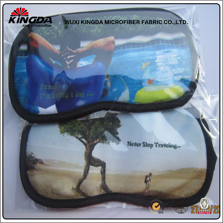 Custom printed eye cover protective beautiful