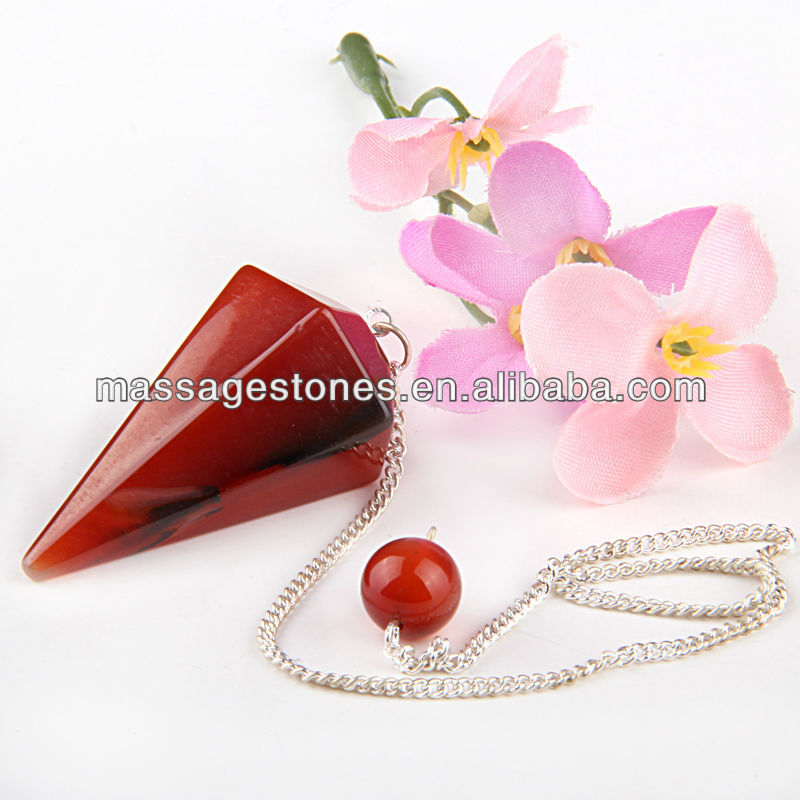 Shree Yantra Crystal Gemstone Pendulum