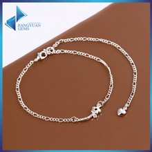 wholesale cheap new design fancy anklets for women