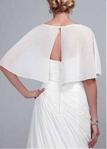 Cheap Chiffon Wedding Wraps Bridal Wraps Jackets Simple