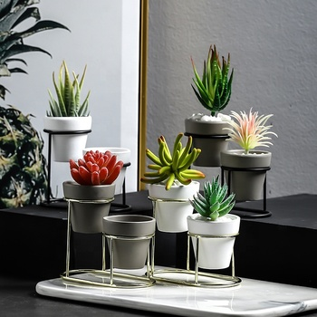 Latest design nordic style ceramic plant pots