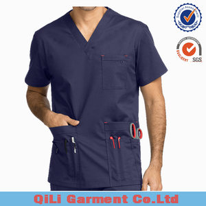 brand 2018 new design Custom hospital mens uniform clinical medical scrubs uniforms