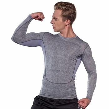 Men Exercise Bodybuilding Workout Yoga Tight Compression Breathable