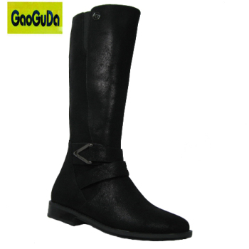 New design boots winter little girls riding boots ladies longblack winter  dress boots sale a392f26df515