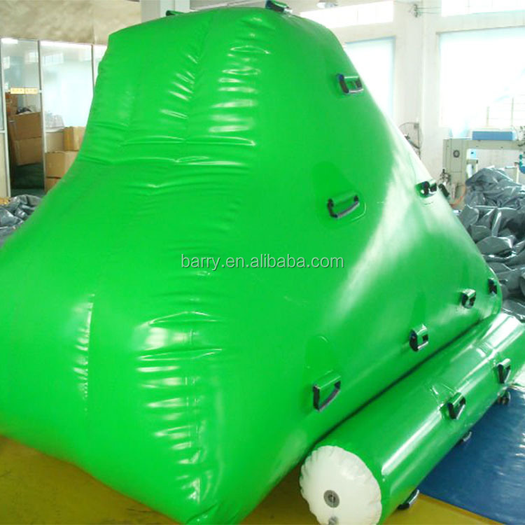 Water climbing inflatable pool iceberg water toy