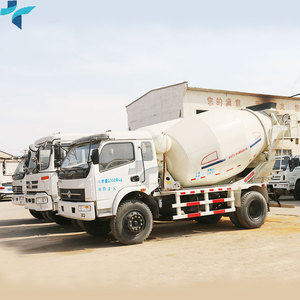 Cheap Self Load Howo 8m3 Concrete Mixer Truck For Sale