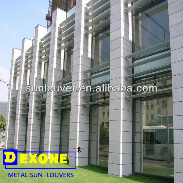 exterior aluminum metal louver for wall and window