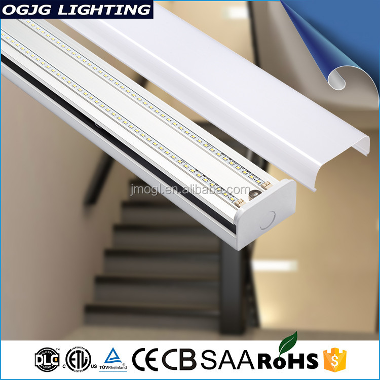 Etl Dlc Ce Cb Saa Listed 4Ft Smd2835 Ceiling Mount Batten Fixtures Linear Led Suspended Light