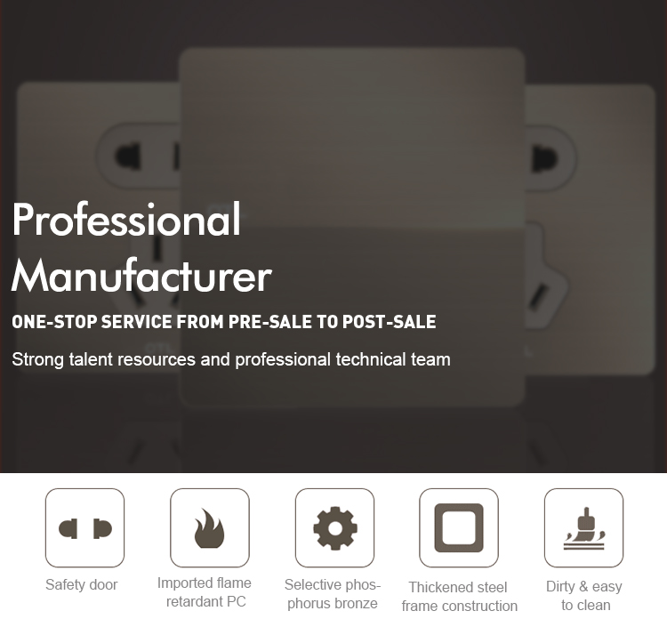 New 품 벽 switch socket manufacturer in china
