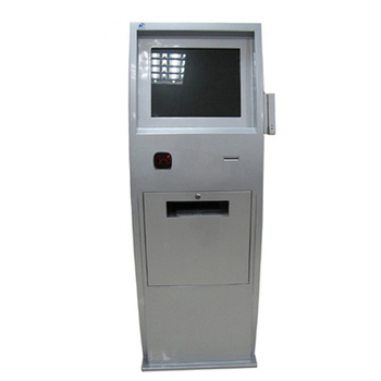 TouchTerminal Kiosk with Printer and Barcode Scanner