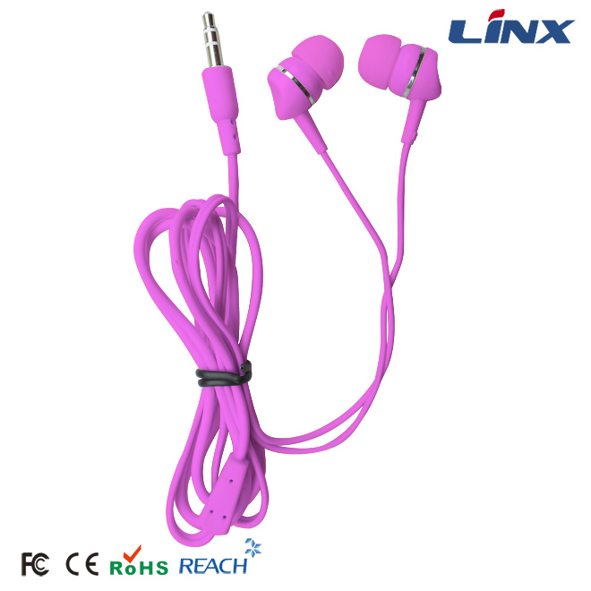 Fashion OEM Handsfree Earphones with Gift Packing