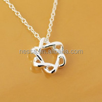 Fashion 925 silver necklace NSNK-32815