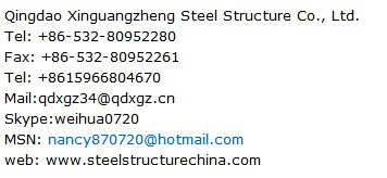 cheap prefab steel construction warehouse