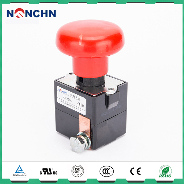 NANFENG 125A Electric Power Switch Push Button For Emergency Disconnecting