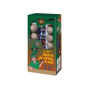 "Europe market L3712 1.75""inch Shoots display Artillery Flaming Balls Shells fireworks"