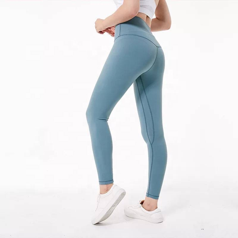 Woman Yoga Fitness Gym Leggins <strong>Sports</strong> Athletic Jogger Leggings With Pocket