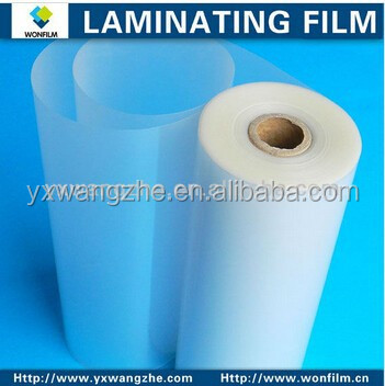 thermai hot glossy/matt laminating roll <strong>film</strong> 60-250mic based on customer need for market