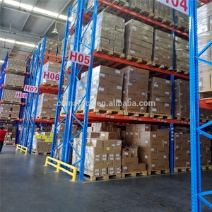 Fifo racking system with heavy duty for warehouse