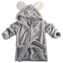 2015 New designs Baby Hooded kids bath towel Animal Modeling Swimming bathrobe Baby cartoon Pajamas Sleepwear