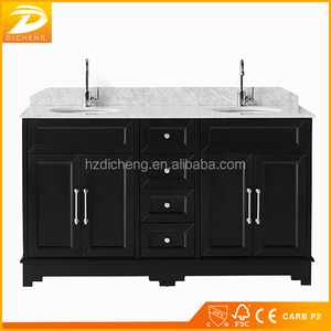 Double Sink Modern Designs Hotel Wholesale Classic Washbasin Cabinet Design