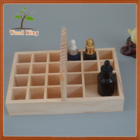 Manufacturers Custom-Made Natural Lumber Show Display Portable Gift Packaging Wooden Essential Oil Box