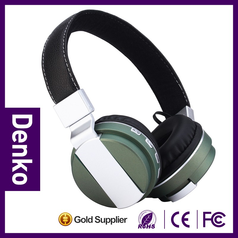 Fashion over ear style Wireless bluetooth headphone for online retailer