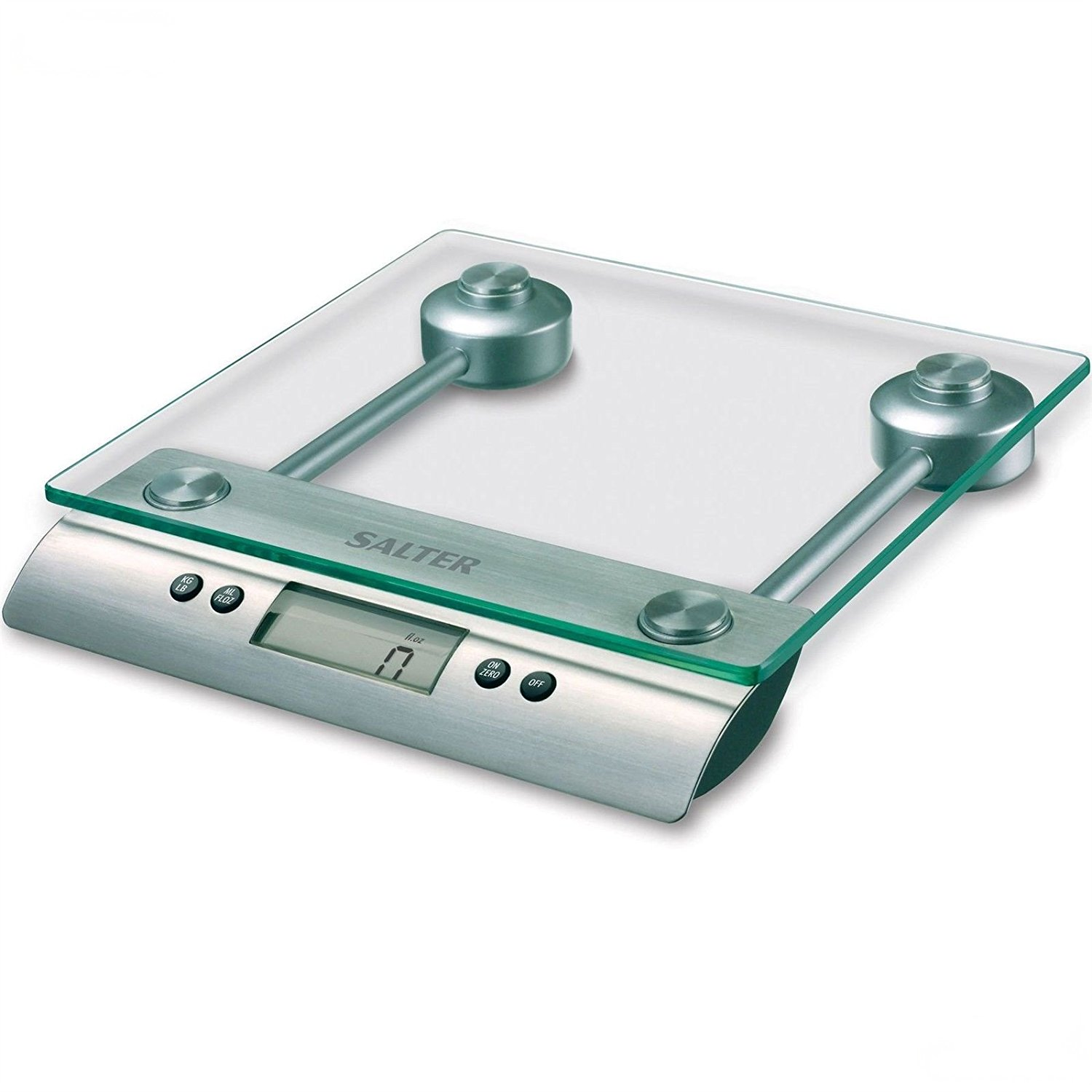 Get Quotations Salter Gl Aquatronic Electronic Digital Dry Liquid Measuring Kitchen Scale Silver