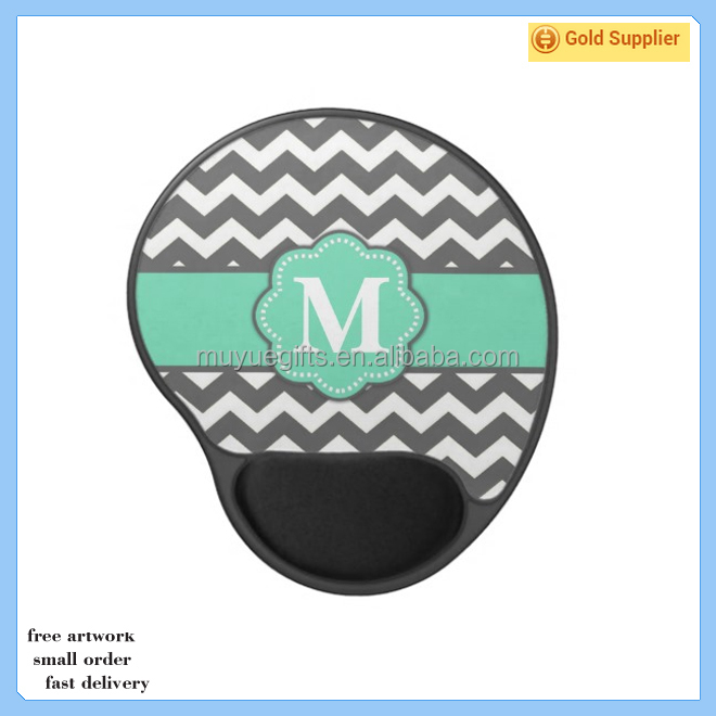 Promotion natural rubber gel mouse pad