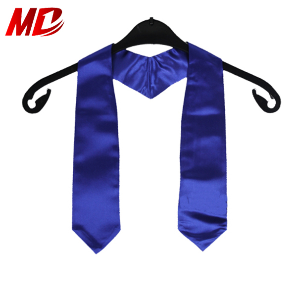Children Wholesale decoration kids graduation stoles Royal Blue