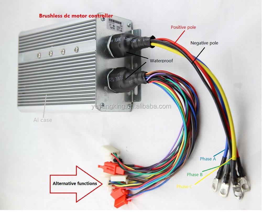 Yu Yang Brushless Dc Motor Controller For Pancake Bldc Buy Electrical Wiring Box Controlleryu Controllerbrushless