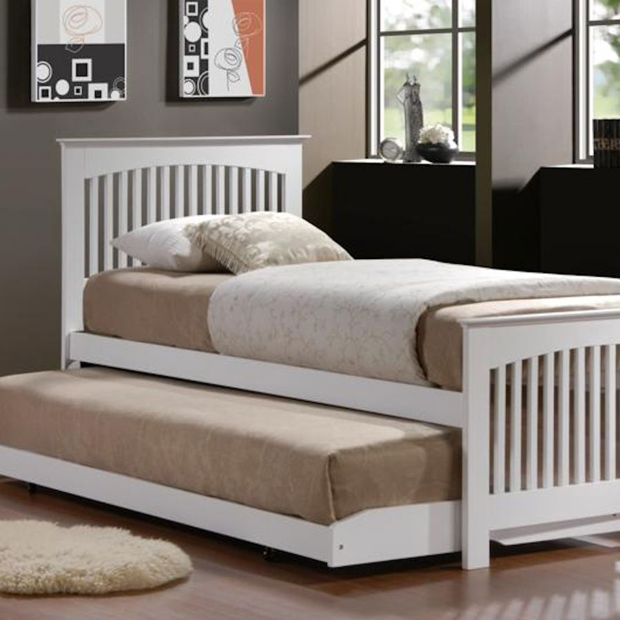 Clic Kids Single Bed With Trundle