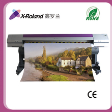 X-Roland uv flatbed digital color printer, multi colour printing machine