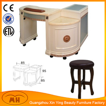 New style wholesale nail manicure table for beauty salon for Beauty salon manicure tables