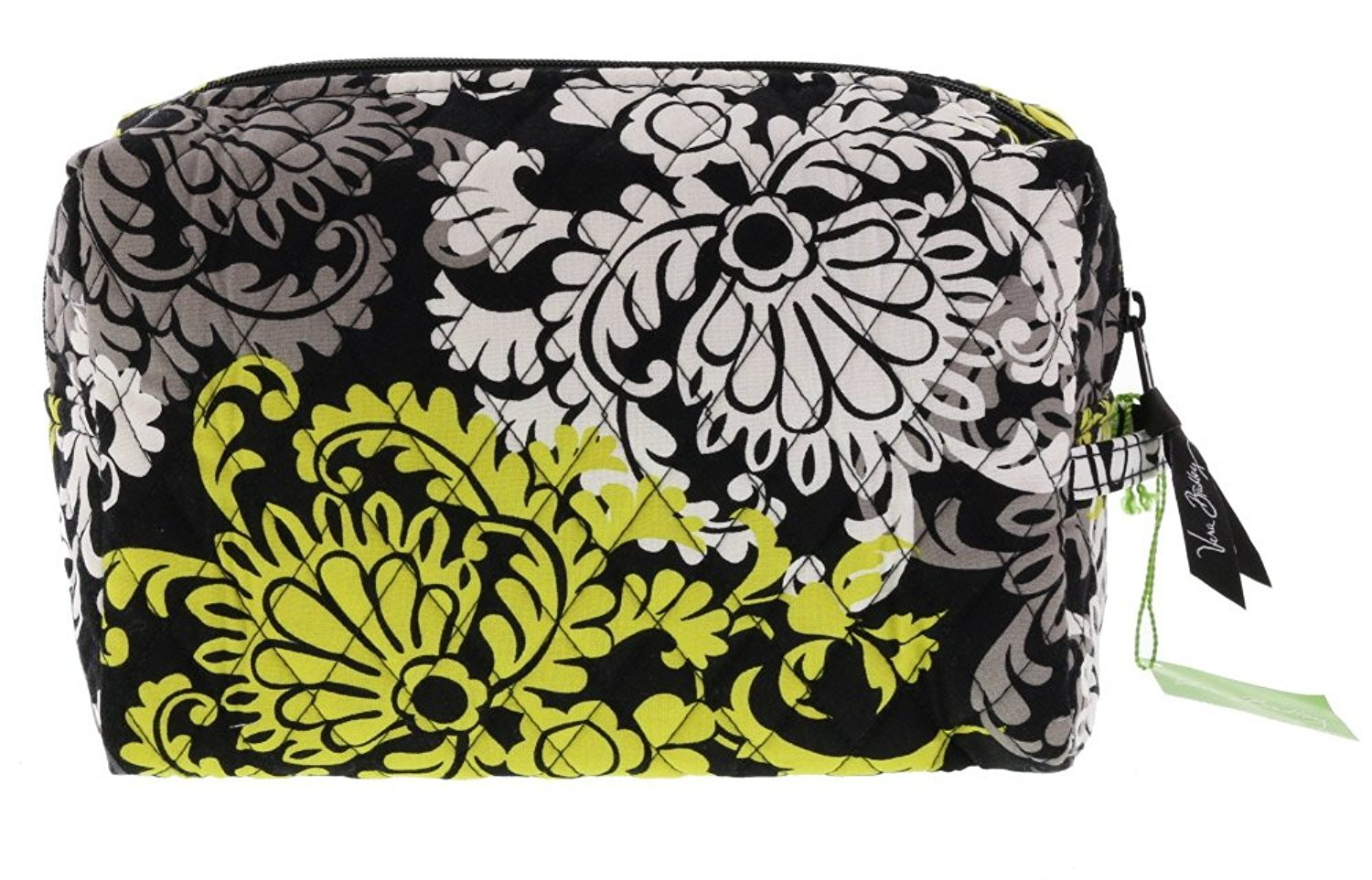 7170bbf699e9 Get Quotations · Vera Bradley Small Cosmetic Bag in Baroque (with solid  black interior)