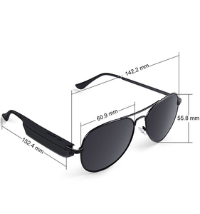 Christmas gift Unique design Bluetooth MP3 Headset Stereo Sunglasses