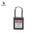 BOSHI China Cheap Price 38mm Steel Shackle Colored Padlocks Locks